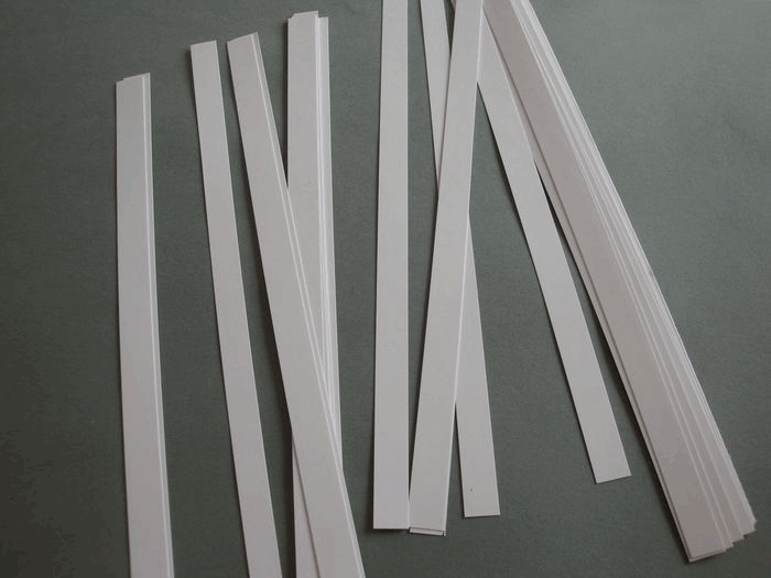 Ligne Horizontale Petite Section - bandes de papier simple
