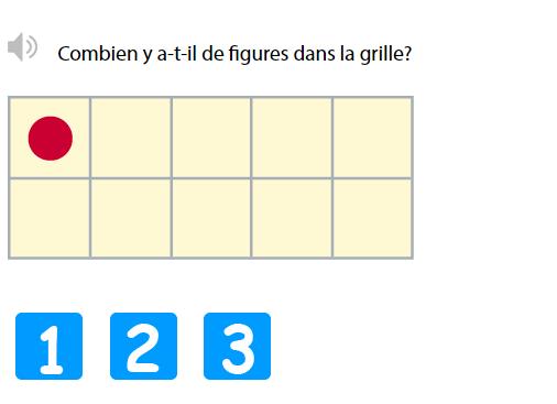 Les nombres de 1 à 3 en Maternelle - Compter jusqu'à 3