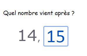 Compter jusqu'à 20 - L'ordre des nombres jusqu'à 20