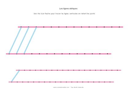 Lignes obliques GS - La ligne qui monte 01
