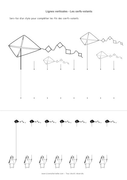 Lignes verticales GS - les fils