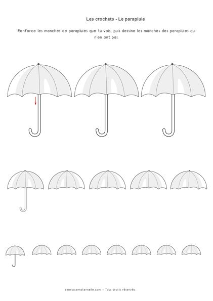 Tracer des cannes MS GS - Manches des parapluies