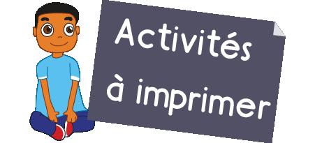 Exercice Maternelle - activités maths ms à imprimer