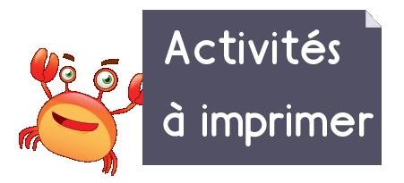 Exercice Maternelle - activités maths ps à imprimer